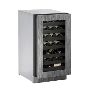 "U-LineModular 3000 Series 18"" Wine Captain(r) Model With Integrated Frame Finish and Field Reversible Door Swing (115 Volts / 60 Hz)"