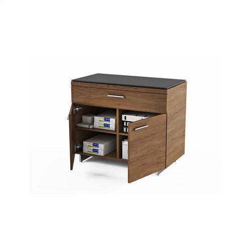Storage Cabinet 6015 in Natural Walnut