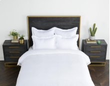 Harlow White Queen Duvet 92x90
