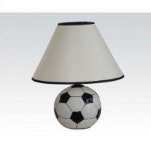 Ceramic Table Lamp Soccerball