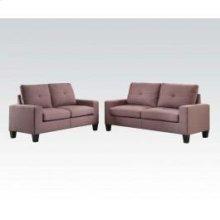 Platinum II Choc Sofa/loveseat