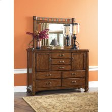 Andriel - Dark Brown 2 Piece Bedroom Set