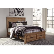 Queen Panel Storage Footboard