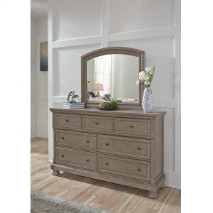 Ashley Furniture Lettner - Light Gray 2 Piece Bedroom Set