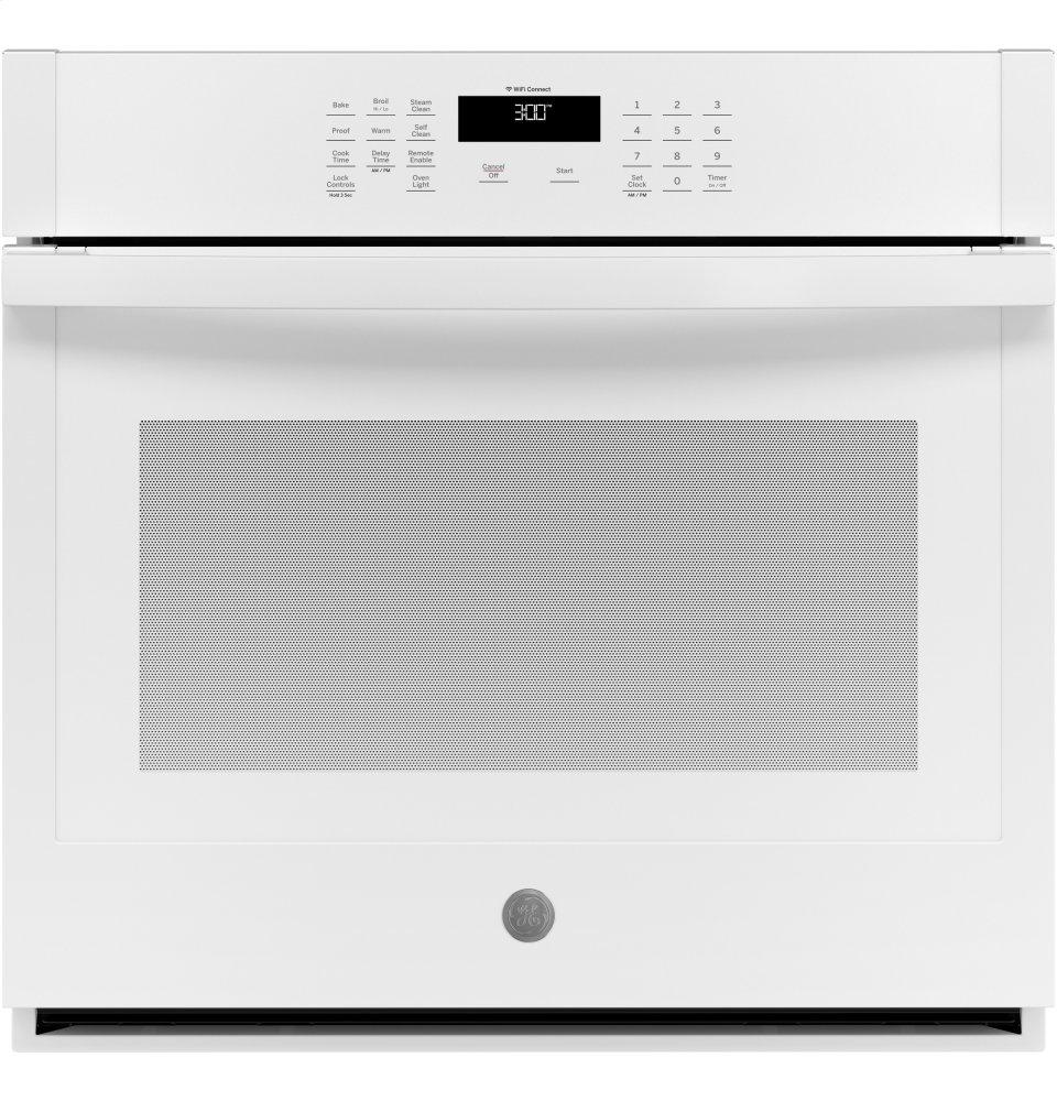 "GE30"" Smart Built-In Self-Clean Single Wall Oven With Never-Scrub Racks"