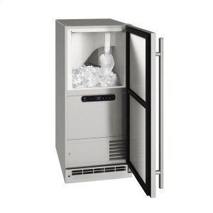 "U-LineOcl115 / Ocp115 15"" Clear Ice Machine With Stainless Solid Finish, No (115 V/60 Hz Volts /60 Hz Hz)"