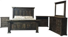Yuma Rustic Nightstand - Brown