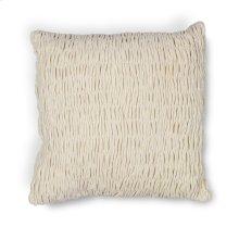 """L208 Ivory Velvet Pillow 18"""" X 18"""""""