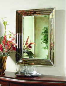 Clear Bevelled Mirror 30x40