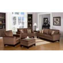 Opulence Brown Sofa
