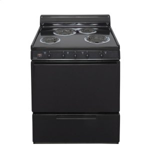 Premier30 in. Freestanding Electric Range in Black