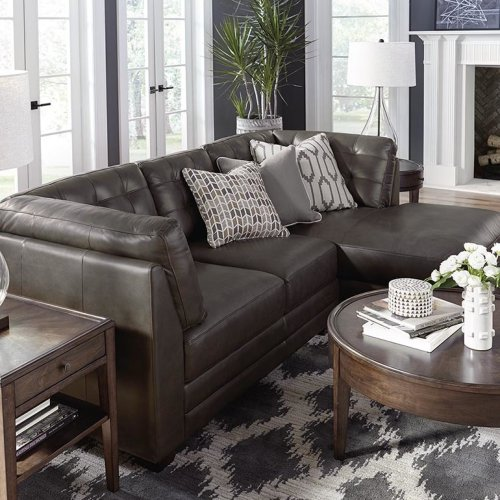 Chaise on Left/Affinity Sand Affinity Right Chaise Sectional
