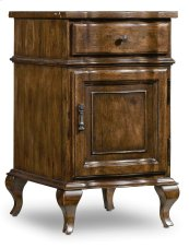 Living Room Archivist Accent Chairside Chest