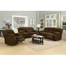Weissman Brown Reclining Sofa