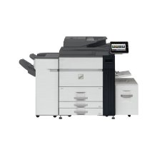 90 ppm B&W networked digital MFP