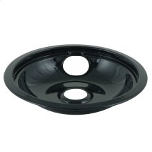 "8"" Replacement Burner Bowls - Black Porcelain"