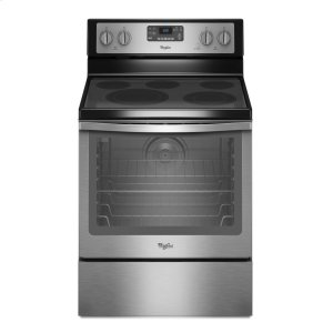 6.4 Cu. Ft. Freestanding Electric Range with AquaLift® Self-Cleaning Technology -