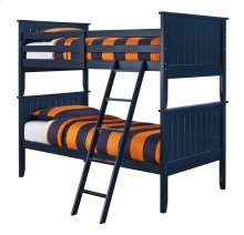 Leo - Blue 3 Piece Bed Set (Twin)