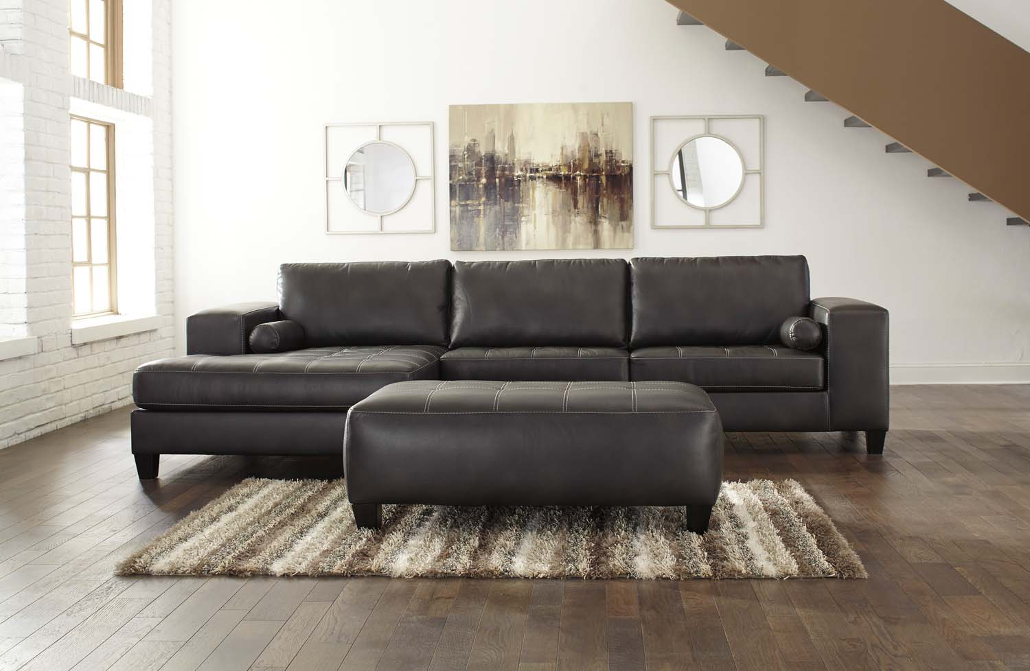 Exceptional LAF Corner Chaise/ RAF Sofa 2 Piece Sectional