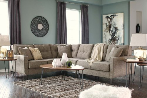 Dahra - Jute 3 Piece Sectional