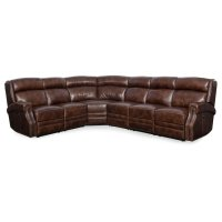 Living Room Carlisle 4-Piece Sectonal w/3 Power Recliner w/ Power Headrest Product Image