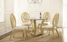 "Emily 5 Pc Dining Set (54"" Round Table)"