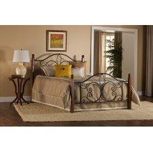 Milwaukee Wood Post Queen Bed