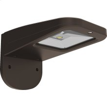 11W LED Slim Wall Pack Fixture - Bronze Finish