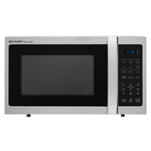 Sharp0.9 cu. ft. 900w Sharp Stainless Steel Carousel Countertop Microwave Oven