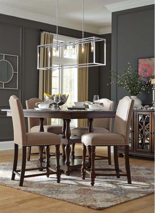 Baxenburg - Brown 5 Piece Dining Room Set