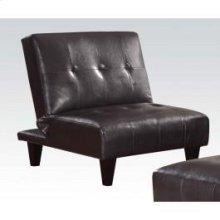 Espresso Pu Adjustable Chair