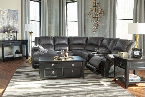 Nantahala Sectional - Slate