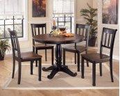 Owingsville - Black/Brown Dining Room Table
