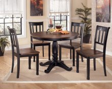 Owingsville - Black/Brown Dining Room Table