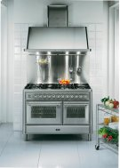 "Graphite 48"" Griddle Top Majestic Techno Dual Fuel Range Product Image"