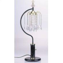"27"" SINGLE CHANDELLER TB LAMP"