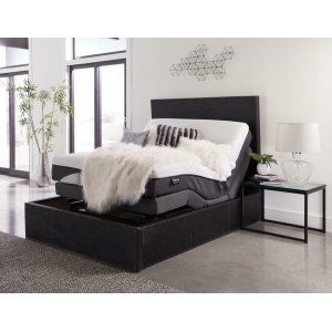 CoasterMontclair Casual Black California King Adjustable Bed Base