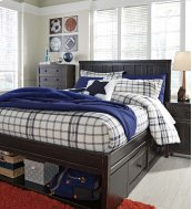 Jaysom - Black 4 Piece Bed Set (Twin)