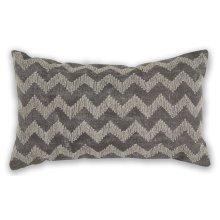 """Pillow L325 Grey Chevron 12"""" X 20"""""""