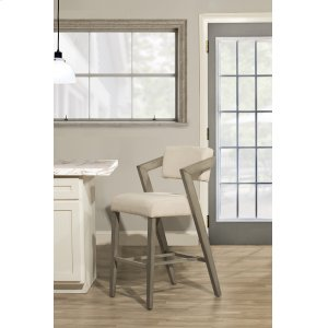 Hillsdale FurnitureSnyder Non-swivel Bar Height Stool - Aged Gray