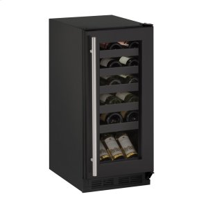 "U-Line15"" Wine Refrigerator With Black Frame Finish (115 V/60 Hz Volts /60 Hz Hz)"