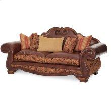 Leather/fabric Sofa