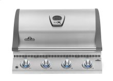 Built-in Natural Gas LEX 485 Stainless steel Grill Head.