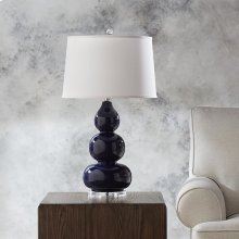 Hollins Navy Table Lamp