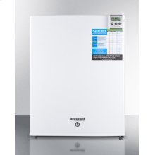 Compact Medical All-refrigerator for Temperature Stable Medical Storage, With Digital Thermostat, Lock, Self-closing Door, Temperature Alarm, and Internal Fan