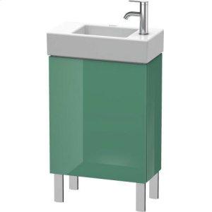 Vanity Unit Floorstanding, Jade High Gloss Lacquer