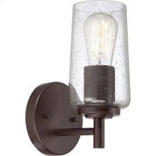 Edison Vanity Light in Western Bronze