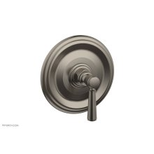 "HEX TRADITIONAL 1/2"" Mini Thermostatic Shower Trim 4-098 - Pewter"