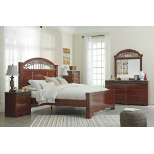 AshleySIGNATURE DESIGN BY ASHLEYFairbrooks Estate - Reddish Brown 3 Piece Bed Set (Queen)