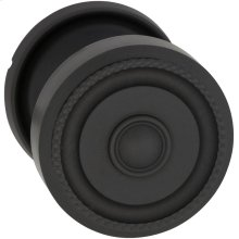 Interior Traditional Beaded Knob Latchset in (US10B Oil-rubbed Bronze, Lacquered)